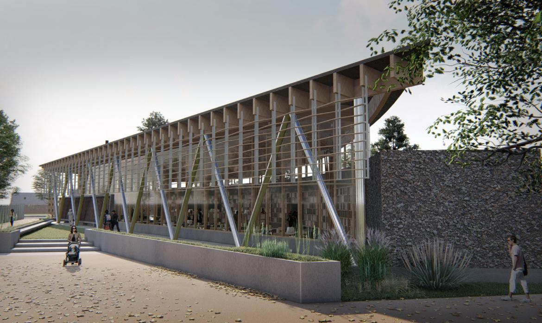 Diseño de Reposición de Infraestructura de la Biblioteca Pública de la Comuna de Santa Bárbara