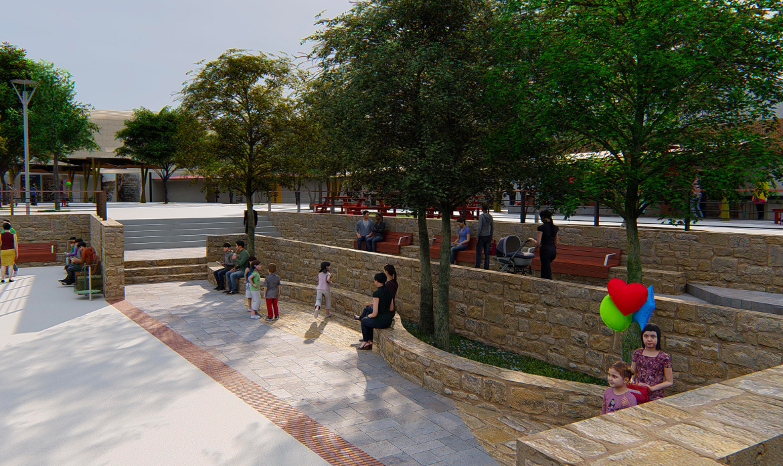 Diseño Parque Chillepín, Comuna de Salamanca